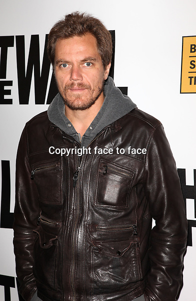 """Michael Shannon attending the New York Premiere of the Opening Night Performance of """"Hit The Wall"""" at the Barrow Street Theatre in New York City on 3/10/2013...Credit: McBride/face to face"""