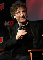 NEW YORK, NY - OCTOBER 6: Neil Gaiman at the Good Omens panel during the 2018 New York Comic Con at The Hulu Theatre at Madison Square Garden in New York City on October 6, 2018. <br /> CAP/MPI99<br /> ©MPI99/Capital Pictures