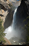 Lower Yosemite Fall during Spring Flood, Yosemite National Park