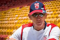 England coach Wayne Bennett. Rugby League World Cup. England Captain's Run. Brisbane, Australia. 28 Nov 2017. Copyright photo: Patrick Hamilton / www.photosport.nz MANDATORY CREDIT/BYLINE : Patrick Hamilton/SWpix.com/PhotosportNZ