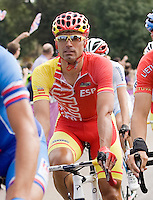 Jose Joaquin Rojas Gil (ESP) in action, Olympics 2012 Cycling Mens Road Race. Picture by Mark Greenwood  - Copyright:  IPS Photo Agency: Thatched Cottage, Wretham, Thetford, Norfolk IP24 1RH - Personal mobile: 07710614642.