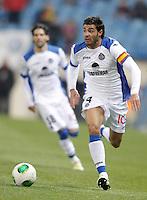 Getafe's Miguel Torres during King's Cup match. December 12, 2012. (ALTERPHOTOS/Alvaro Hernandez) /NortePhoto