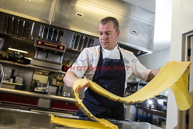 Celtic Manor Resort<br /> Chef Richard Davies<br /> 20.04.16<br /> &copy;Steve Pope - Fotowales