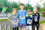 Thomas Lyon, Jack Savage, Maurice Harty, James Baxter at the CBS The Green Fun Run on Sunday afternoon