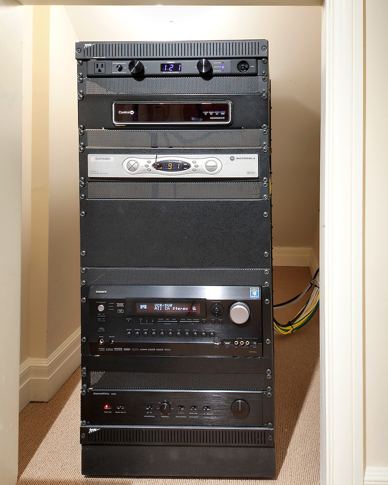 Home Theater Control Rack