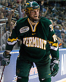 Viktor Stalberg (Vermont - 18) - The University of Vermont Catamounts defeated the Yale University Bulldogs 4-1 in their NCAA East Regional Semi-Final match on Friday, March 27, 2009, at the Bridgeport Arena at Harbor Yard in Bridgeport, Connecticut.