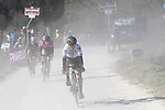 Action from the Strade Bianche Women Elite 2019 running 133km from Siena to Siena, held over the white gravel roads of Tuscany, Italy. 9th March 2019.<br /> Picture: LaPresse/Fabio Ferrari | Cyclefile<br /> <br /> <br /> All photos usage must carry mandatory copyright credit (© Cyclefile | LaPresse/Fabio Ferrari)