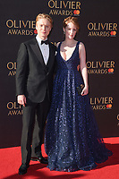 Freddie Fox &amp; Clare Foster at The Olivier Awards 2017 at the Royal Albert Hall, London, UK. <br /> 09 April  2017<br /> Picture: Steve Vas/Featureflash/SilverHub 0208 004 5359 sales@silverhubmedia.com