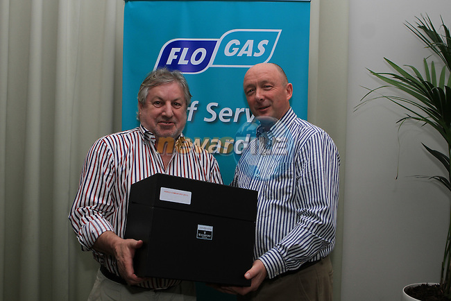Flogas Staff Service Awards for 2010 and 2011...(Photo credit should read Jenny Matthews www.newsfile.ie)....This Picture has been sent you under the conditions enclosed by:.Newsfile Ltd..The Studio,.Millmount Abbey,.Drogheda,.Co Meath..Ireland..Tel: +353(0)41-9871240.Fax: +353(0)41-9871260.GSM: +353(0)86-2500958.email: pictures@newsfile.ie.www.newsfile.ie.