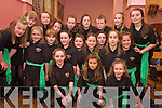 The Listowel group who took part in the county finals of the Community Games Choir competition in Rathmore Community Centre on Sunday were Bridget Sheehan, Abbey McMahon, Niamh Moloney, Amy McCarthy, Rachel Costello, Niamh O'Mahony, Meabh trench, Laura Sheehy, Shannon McCarthy, Olivia Stack, Aoife Moloney, Amy carmody, Niamh O'Sullivan, Stacey Meaney, Ciara daly, saoirse Enright, Shannon Murphy, Colm Stack, Serena Downey and Grainne O'Donovan.