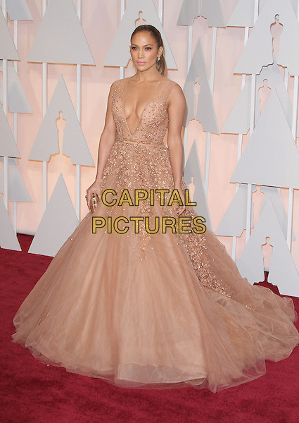 22 February 2015 - Hollywood, California - Jennifer Lopez. 87th Annual Academy Awards presented by the Academy of Motion Picture Arts and Sciences held at the Dolby Theatre. <br /> CAP/ADM<br /> &copy;AdMedia/Capital Pictures Oscars