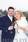 Juliette Fleming, Farranbrack, Tralee Rd Castleisland daughter of Tim and Josephine, and Ger O'Donoghue, Leamydoody, Cordal son of Denny and Breda, who were married in St Stephen and John church Castleisland on Saturday, Fr Dan Riordan officiated at the ceremony, best man was  the grooms brother Brian O'Donoghue, groomsmen were Mikey Daly and Adrian Fleming, bridesmaids were the brides sisters Jacqueline and Joanne Fleming with Nora O'Donoghue the grooms sister, the reception was held in the Killarney Oaks Hotel and the couple will reside in Knockbrack Upper Knocknagoshel