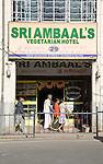 Vegetarian hotel restaurant, Nuwara Eliya, Sri Lanka, Asia