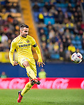 Roberto Soriano of Villarreal CF in action during their Copa del Rey 2016-17 match between Villarreal CF and CD Toledo at the Estadio El Madrigal on 20 December 2016 in Villarreal, Spain. Photo by Maria Jose Segovia Carmona / Power Sport Images