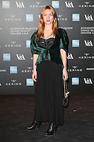 Josephine de la Baume arriving for the Alexander McQueen: Savage Beauty Fashion Gala at the V&A, London. 12/03/2015 Picture by: Alexandra Glen / Featureflash