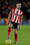 George Baldock of Sheffield United during the Premier League match at Bramall Lane, Sheffield. Picture date: 10th January 2020. Picture credit should read: James Wilson/Sportimage