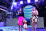 MIAMI BEACH, FL - DECEMBER 18: Vanessa James (L) host A AT&T Latino's Night With Becky G & Wisin at Baoli Miami on Friday December 18, 2015 in Miami Beach, Florida. (Photo by Johnny Louis / jlnphotography.com)