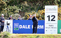 27 May 2015; Ernie Ells tees up at the 12th<br /> <br /> Dubai Duty Free Irish Open Golf Championship 2015, Pro-Am. Royal County Down Golf Club, Co. Down. Picture credit: John Dickson / DICKSONDIGITAL