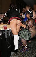 Belle Noire at AVN Expo, <br /> Hard Rock Hotel, <br /> Las Vegas, NV, Friday January 17, 2014.