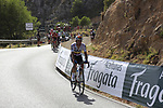 Colombian National Champion Sergio Luis Henao (COL) Team Sky on the slopes of Sierra de la Alfaguara  during Stage 4 of the La Vuelta 2018, running 162km from Velez-Malaga to Alfacar, Sierra de la Alfaguara, Andalucia, Spain. 28th August 2018.<br /> Picture: Eoin Clarke   Cyclefile<br /> <br /> <br /> All photos usage must carry mandatory copyright credit (&copy; Cyclefile   Eoin Clarke)