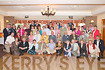 BEST WISHES: Fr John Horan (seated centre) celebrates his 90th birthday with his family in Darby OGills, Killarney,.last Sunday.