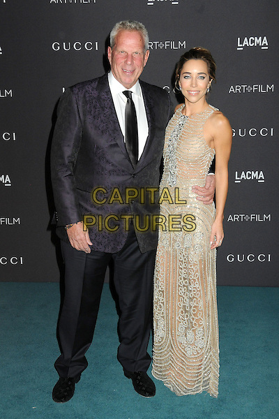 7 November 2015 - Los Angeles, California - Steve Tisch, Katia Francesconi. LACMA 2015 Art+Film Gala held at LACMA.  <br /> CAP/ADM/BP<br /> &copy;BP/ADM/Capital Pictures