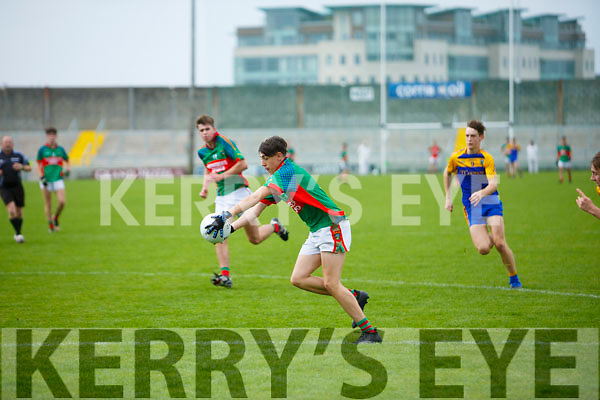 Lee Strand U16 County District Championship Football Plate Final Mid Kerry V Kenmare.  Mid Kerry Killian Murphy