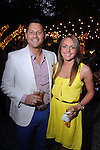 Tony Wannigman and Brittanie Boyett at the Hotel Zaza's annual Spring Party Wednesday April 24, 2013.(Dave Rossman photo)