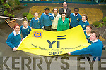 ACHIEVEMENT: Mercy Mounthawk students are the first of four schools nationally to receive the Yellow Flag Award for completing a programme on diversity in their community. Pictured were: Avril Peevers, Aine daly, Shiniqua Purcell, Ebun Osinubi, Martha Brassil, Breda Cronin, John Roarke (Principal), Ashton Mugabe, Sarah Guerin, Pricilla Purcell and John Prendergast.