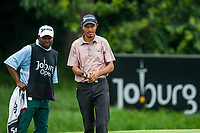 Omar Sandys during the first round of the Joburg Open, Randpark Golf Club, Johannesburg, Gauteng, South Africa. 07/12/2017<br /> Picture: Golffile | Tyrone Winfield<br /> <br /> <br /> All photo usage must carry mandatory copyright credit (&copy; Golffile | Tyrone Winfield)