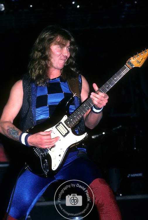 Dave Murray of IRON MAIDEN Iron Maiden 1983 Iron Maiden