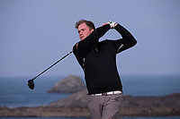 Gary Ward (Cork IT) during the final of the Irish Students Amateur Open Championship, Tralee Golf Club, Tralee, Co Kerry, Ireland. 12/04/2018.<br /> Picture: Golffile | Fran Caffrey<br /> <br /> <br /> All photo usage must carry mandatory copyright credit (&copy; Golffile | Fran Caffrey)