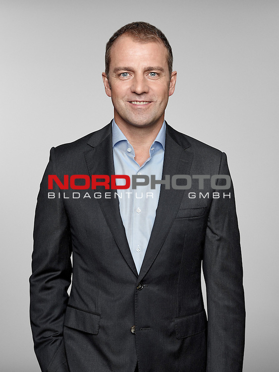 ST. MARTIN IN PASSEIER, ITALY - MAY 24: In this handout image provided by German Football Association (DFB) Hans-Dieter Flick of team Germany poses for a picture on May 24, 2014 in St. Martin in Passeier, Italy.   Foto © nph / Hangout  *** Local Caption *** Hans-Dieter Flick