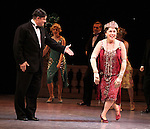 Blythe Danner Returns to Broadway: Michael McGrath, Judy Kaye.during the Curtain Call for 'Nice Work If You Can Get It'  at the Imperial Theatre in New York City on December 19, 2012