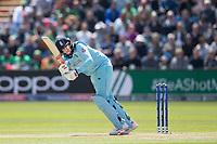 Joe Root (England) pushes off his legs for an easy single during England vs Bangladesh, ICC World Cup Cricket at Sophia Gardens Cardiff on 8th June 2019