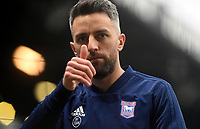 Ipswich Town's Cole Skuse during the pre-match warm-up <br /> <br /> Photographer Hannah Fountain/CameraSport<br /> <br /> The EFL Sky Bet Championship - Ipswich Town v Rotherham United - Saturday 12th January 2019 - Portman Road - Ipswich<br /> <br /> World Copyright &copy; 2019 CameraSport. All rights reserved. 43 Linden Ave. Countesthorpe. Leicester. England. LE8 5PG - Tel: +44 (0) 116 277 4147 - admin@camerasport.com - www.camerasport.com
