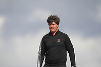 Tom Sloman from England on the 5th tee during Round 3 Singles of the Men's Home Internationals 2018 at Conwy Golf Club, Conwy, Wales on Friday 14th September 2018.<br /> Picture: Thos Caffrey / Golffile<br /> <br /> All photo usage must carry mandatory copyright credit (&copy; Golffile | Thos Caffrey)