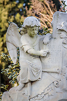 Oakland Cemetery was founded in 1850, and is the final resting place for many of Atlanta's most noted citizens.  It is also a showplace of sculpture and a botanical garden.