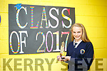 Sixth class student Grace McLoughlin from Caherleaheen NS has never missed a day of school in 8 years