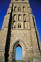 Glastonbury Tor, England. , ancient civilizations, landmarks, anthropology, religions, Christianity, architecture, mythology, ruins, sculpture, relief, relivios, Holy Isle of the Monks. England.