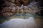 Rock pool reflections