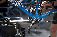 Team Wanty - Groupe Gobert's post-race bike cleaning<br /> <br /> 115th Paris-Roubaix 2017 (1.UWT)<br /> One Day Race: Compiègne › Roubaix (257km)