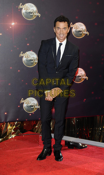 Bruno Tonioli<br /> The red carpet launch for 'Strictly Come Dancing' at Elstree Studios, Borehamwood, England.<br /> September 3rd, 2013<br /> full length black suit<br /> CAP/FIN<br /> &copy;Steve Finn/Capital Pictures