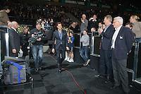 11-02-13, Tennis, Rotterdam, ABNAMROWTT,  Roger Federer opens the tournament