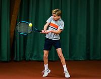 Wateringen, The Netherlands, November 27 2019, De Rhijenhof , NOJK 12 and16 years, Maurits Tukker (NED)<br /> Photo: www.tennisimages.com/Henk Koster