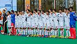 ROTTERDAM -  Line up Spain,    voor  de Pro League hockeywedstrijd heren, Nederland-Spanje (4-0) . COPYRIGHT KOEN SUYK