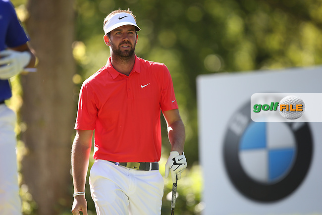 Steven Jones (AUS) during Round One of the 2015 BMW PGA Championship over the West Course at Wentworth, Virginia Water, London. 21/05/2015Picture David Lloyd, www.golffile.ie.