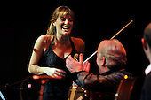 Celtic Connections Opening Concert- Glasgow Royal Concert Hall - classic violinist Nicola Benedetti on stage (here with Phil Cunningham -centre) - picture by Donald MacLeod - 16.01.14 – 07702 319 738 – clanmacleod@btinternet.com – www.donald-macleod.com