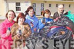 COLLECTION: Announcing details of the collection of old clothes and mobile phones to raise money for Killury National School in Causeway, l-r: Cathy Quilter, Gretta Sheahan, Catherine Nelan, Liz Griffin, Padraig Regan (Principal).