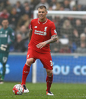 Martin Skrtel of Liverpool during the Barclays Premier League match between Swansea City and Liverpool played at the Liberty Stadium, Swansea on 1st May 2016
